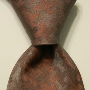 GIANNI VERSACE Men's Silk Necktie MEDUSA Mauve EUC